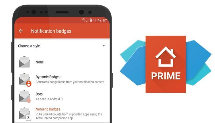 Nova Launcher يضيف ميزة اشعارات Android O Android o
