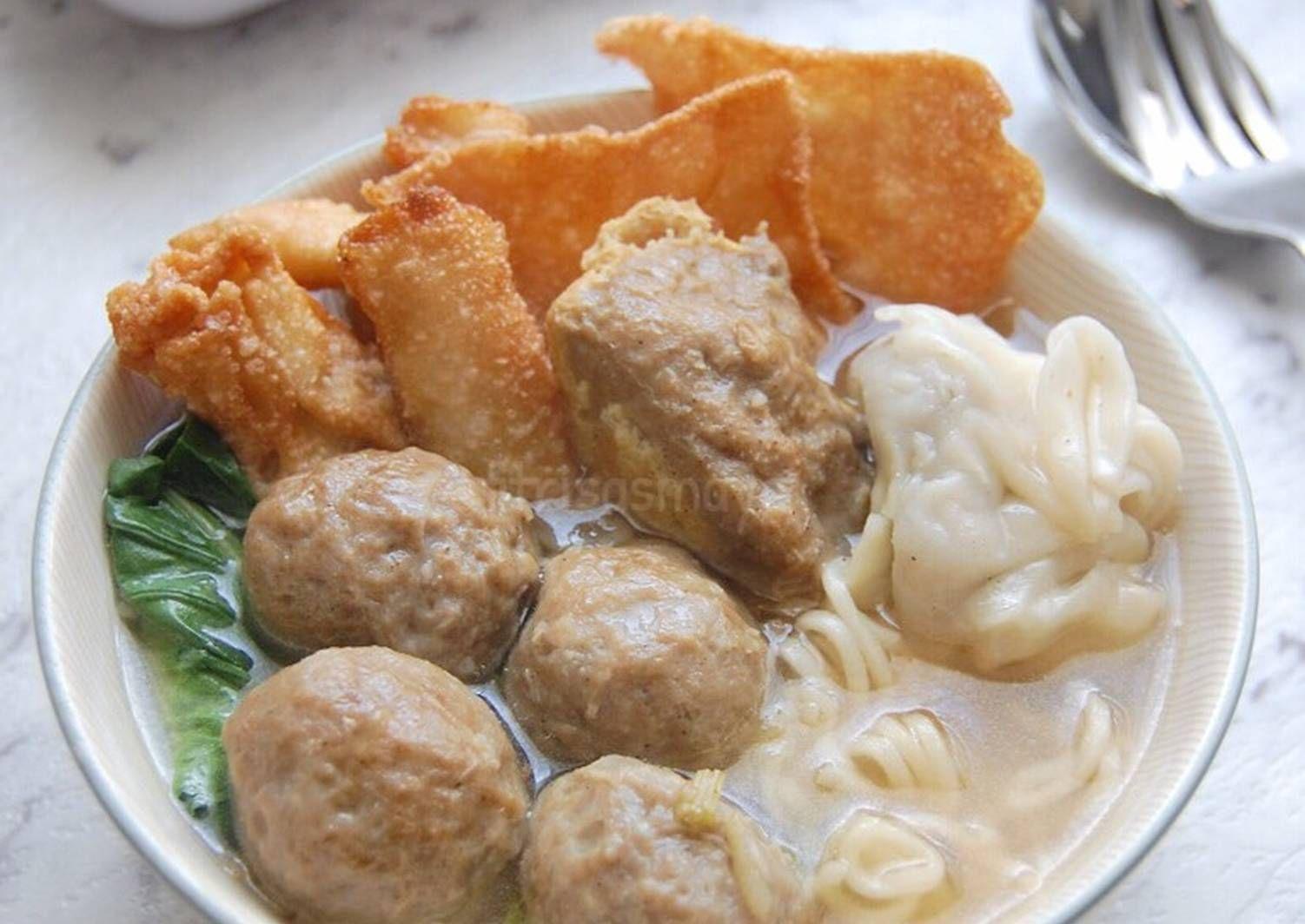 Resep Bakso Malang Oleh Fitri Sasmaya Resep Bakso Makanan Resep