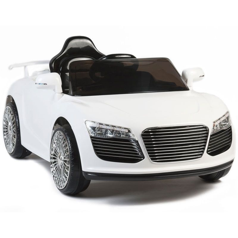 Audi R Style V Kids Ride On Car Electric Powered Wheels Remote - Audi r8 6v car