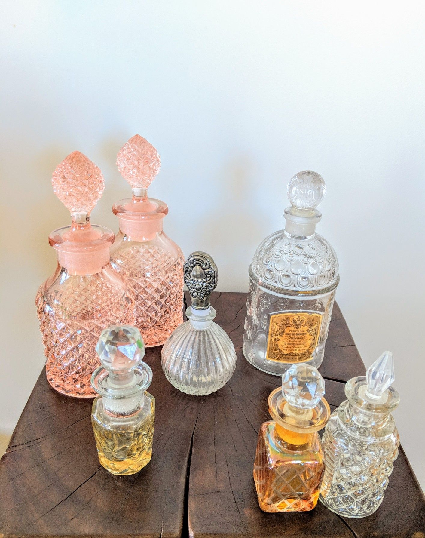 A Delightful Assortment Of Perfume Bottles With No Doubt A