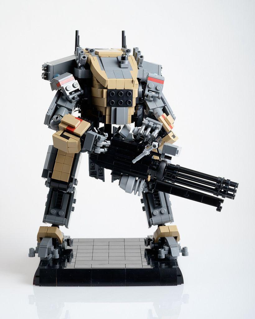 """Legion (from """"Titanfall 2"""")   Lego, Lego mecha and Legos"""