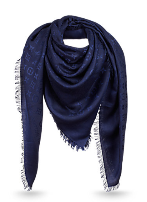 Dark blue LV scarf.   foulards en 2018   Pinterest   Foulard, Louis ... 41fbbf0349d