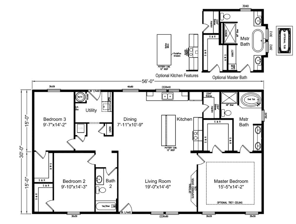 Floor Plan The Urban Homestead AD H