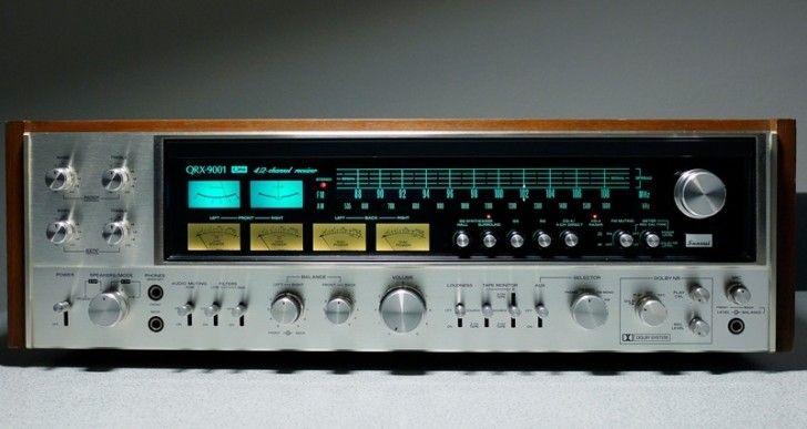 Receiver Sansui QRX-9001