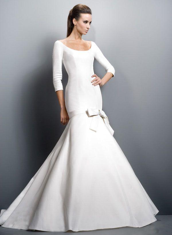 3/4 sleeves mermaid style Jesus Peiro dress | Wedding Gown ...