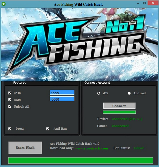 Ace Fishing Wild Catch Hack [Android/iOS (With images