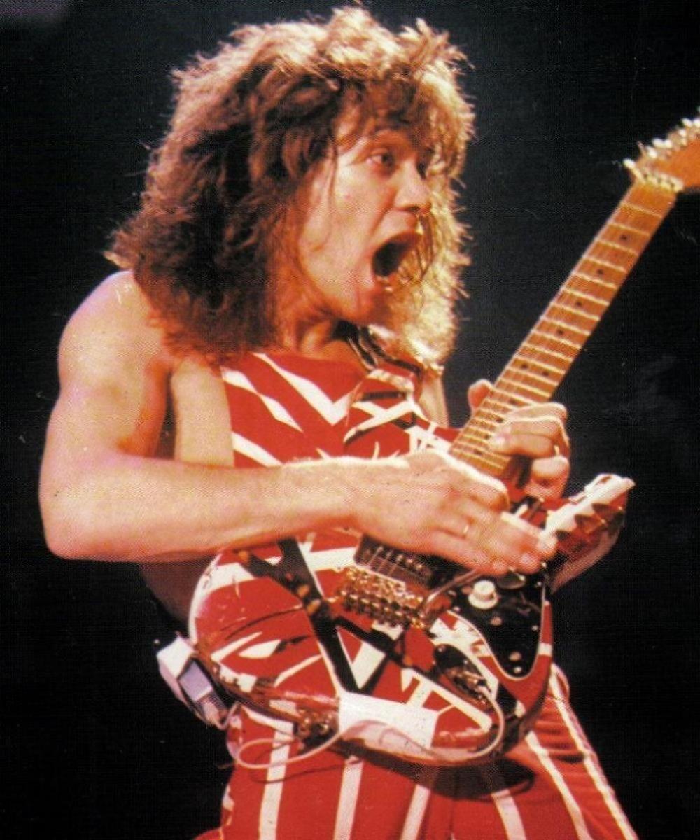Pin By A Mesajh On Franken Eddie Van Halen Van Halen Best Guitarist