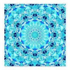 Aqua Lace Abstract Shower Curtain> Aqua Lace> Diane Clancy's Fine Art Shop #PODpinparty #dianeclancy