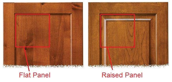Gentil Flat Panel Cabinet Doors Vs Raised Panel Cabinet Doors