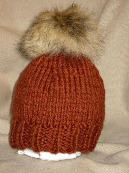 Skimütze, Strickmütze Chic und Trendy Handgestrickte Mütze mit Echtfell  Bommelmütze Pullover, Tommy Hilfiger, 870138dc6c