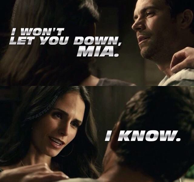 Brian and Mia