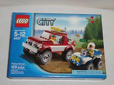 LEGO City Police Pursuit 4437 Truck ATV Police Mini Figure  NEW