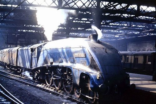 60011 Empire Of India In Blue Livery With Images Steam Trains
