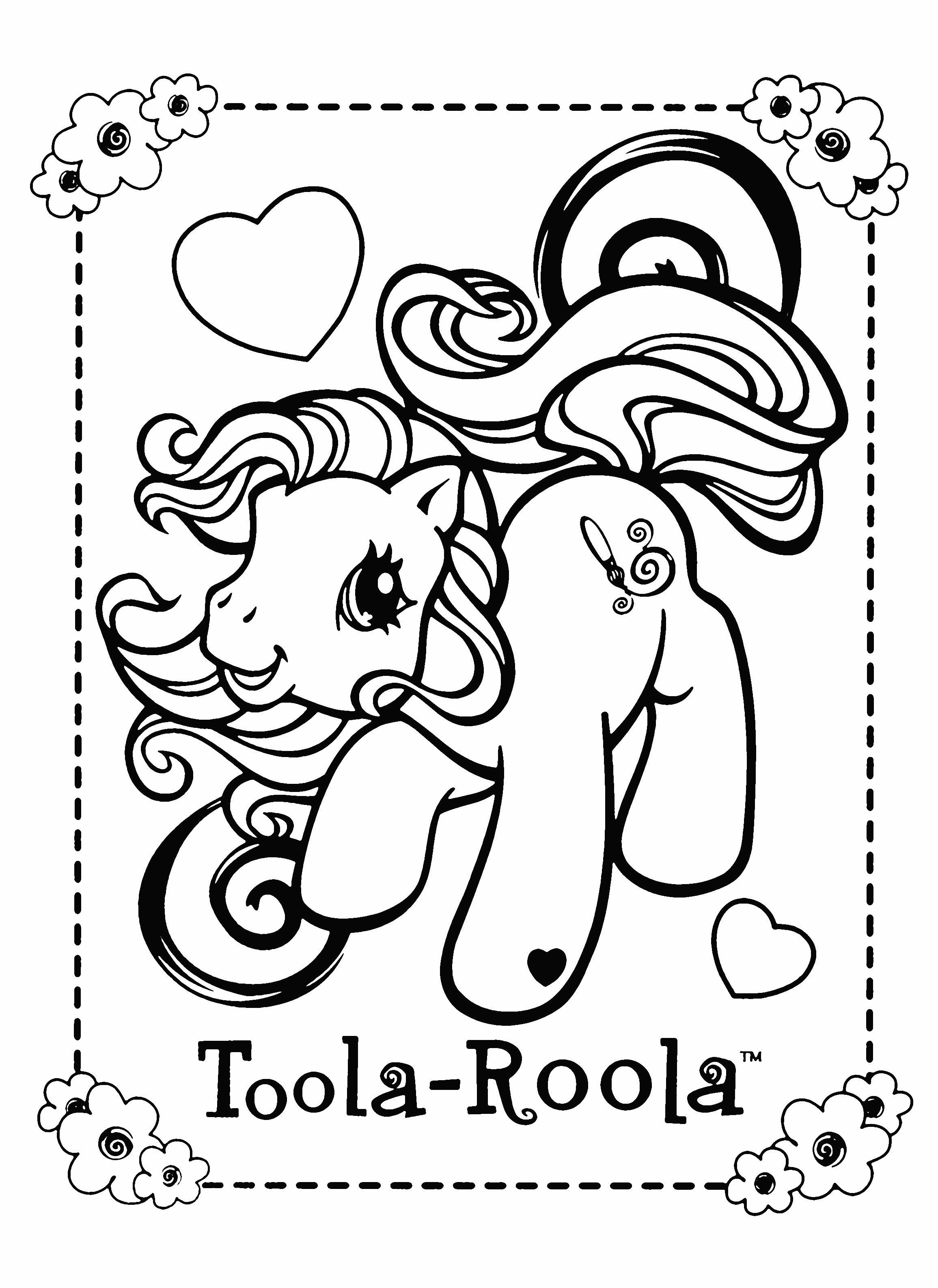 kleurplaten my pony