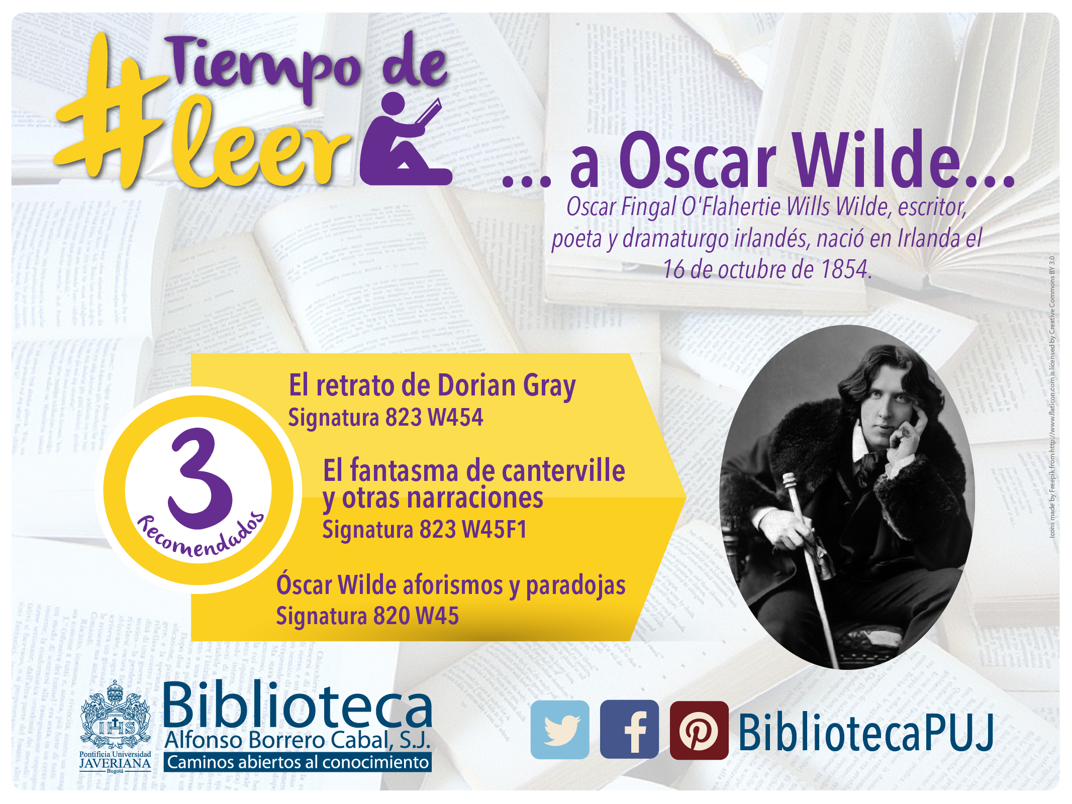 3 libros imperdibles de #OscarWilde