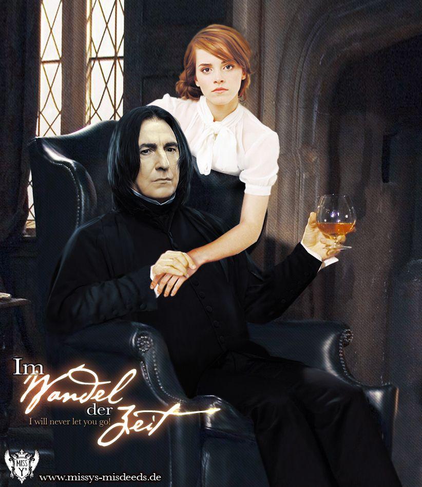 Hermione Severus Photo Im Wandel Der Zeit Snape And Hermione Severus Snape Fanart Severus Snape