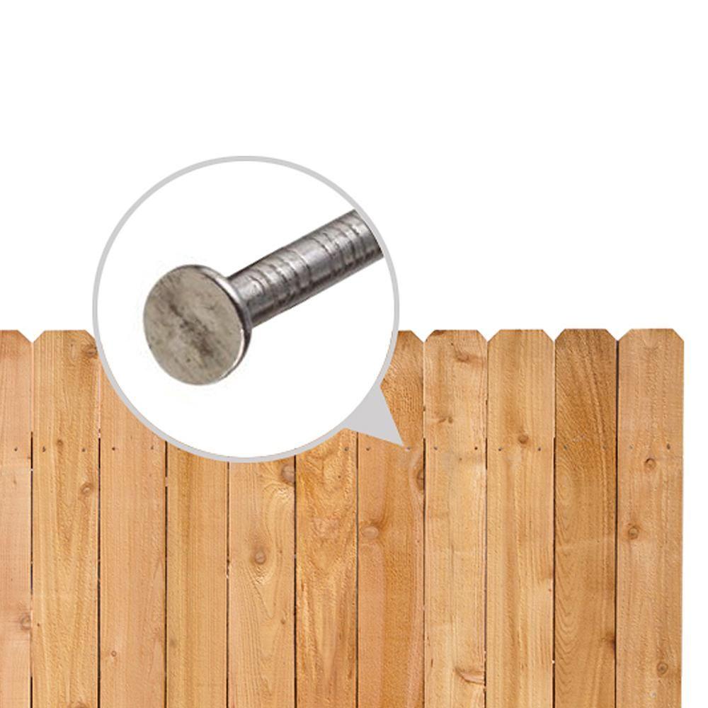 6 ft x 8 ft cedar square lattice top fence panel310067