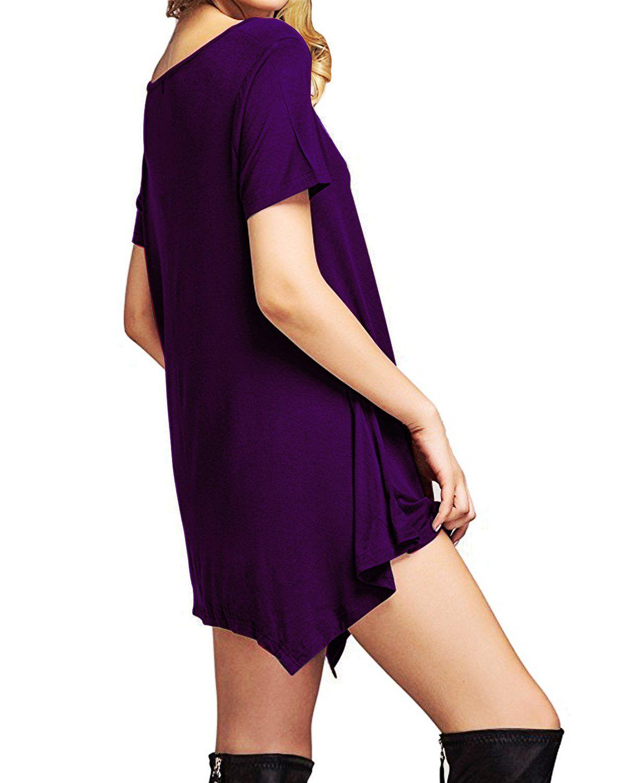 a211b0766f866 Maternity Styles - best maternity dresses   Century Star Womens Short Sleeve  TShirt Dress Casual Loose Fit Tunic Dress Cute Swing TShirt Dress for Women  ...