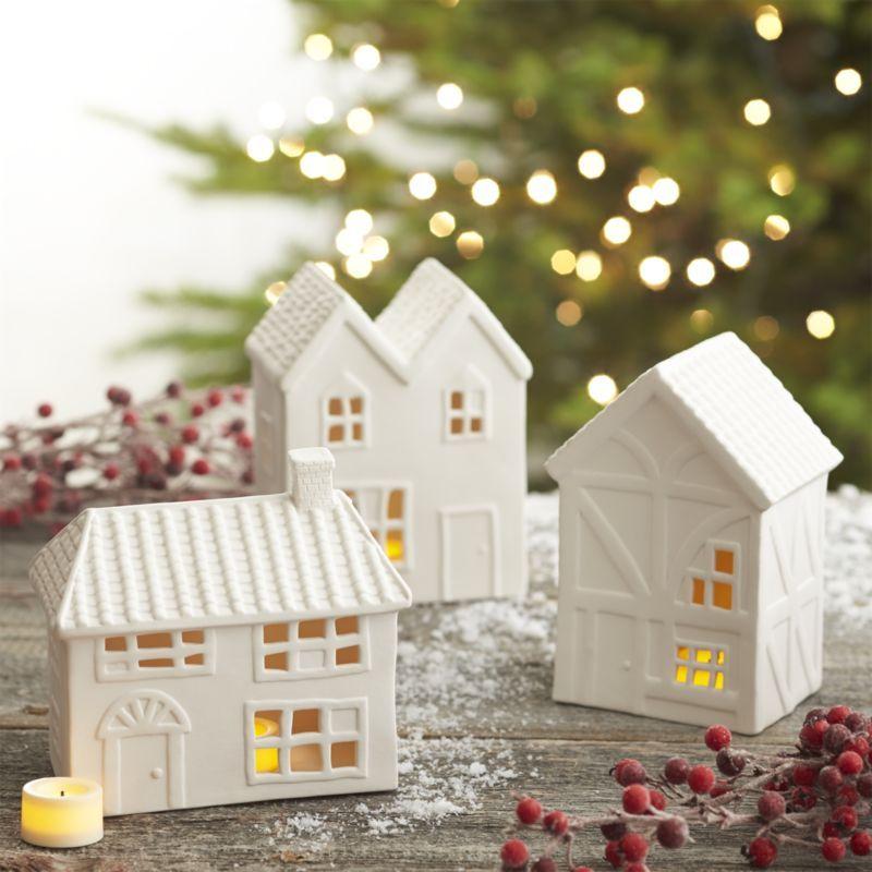 Ceramic Houses Ceramic Houses Home Decor Crate Christmas Home