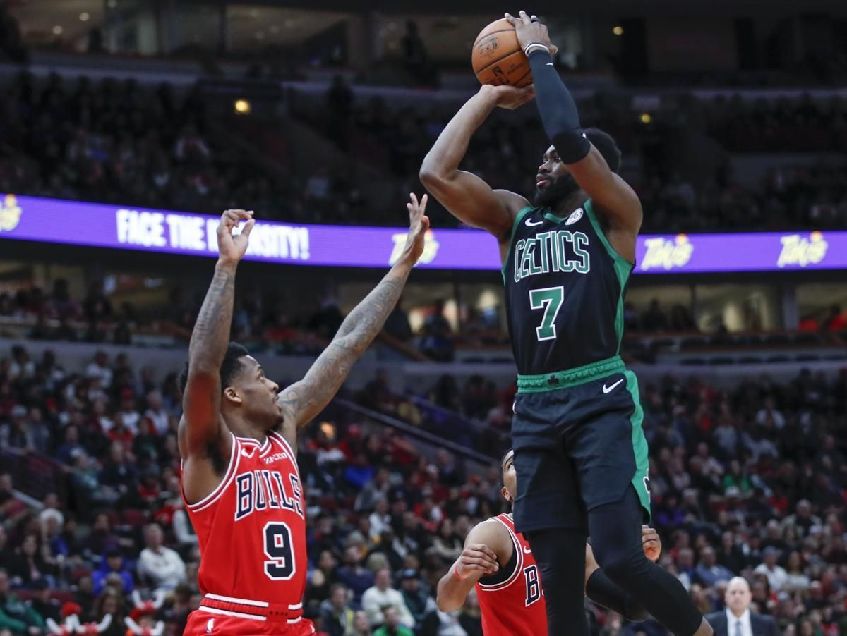 Celtics make history in rout of Bulls 'We're playing some