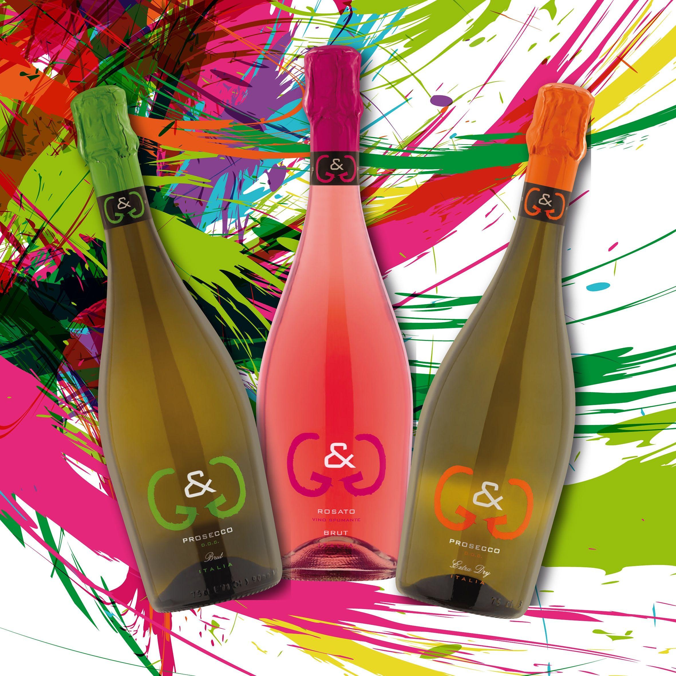 Linea G G Vigna Dogarina Prosecco Rosato Proseccobrut Proseccoextradry Sparklingwines Colourpop Colourfu Wine Bottle Rose Wine Bottle Champagne Bottle