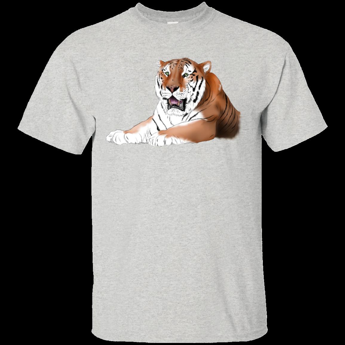 TJ Tiger Color G200 Gildan Ultra Cotton TShirt (With