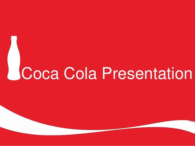 image result for coca cola ppt 2018 powerpoint presentation