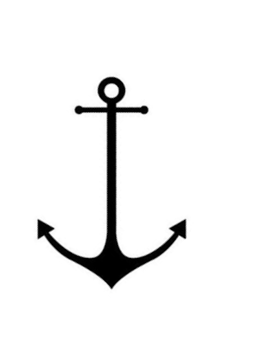 Gallery For Anchor Stencil Printable Tattoo Pinterest Anchor