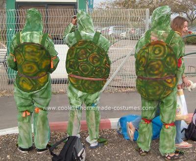 Awesome homemade teenage mutant ninja turtles group costume homemade teenage mutant ninja turtles group costume my son and his friends wanted to be ninja turtles for this homemade teenage mutant ninja turtles solutioingenieria Choice Image