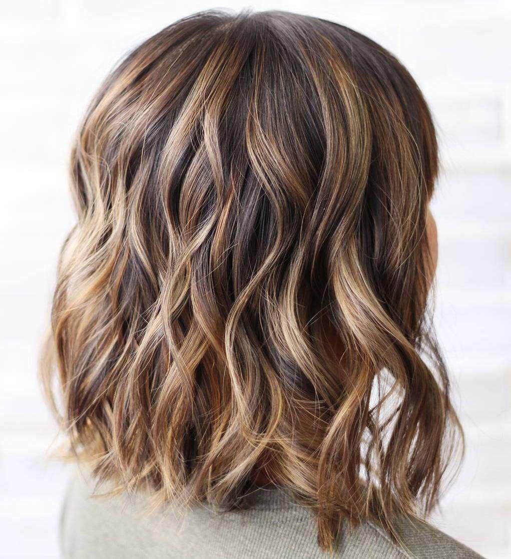 Medium Brown Hair With Lowlights Spefashion