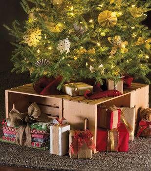 Christmas Tree Crate Stand Christmas Tree Box Stand Christmas Tree Box Christmas Tree Ornaments