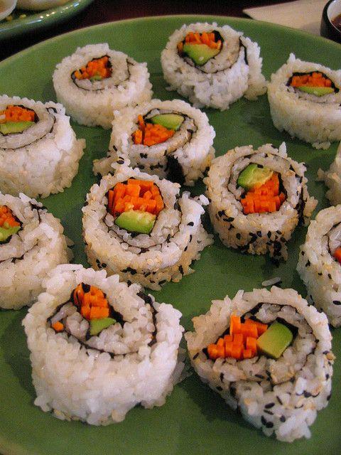 Recette Sushi Maki Inversé California Roll Végétarien