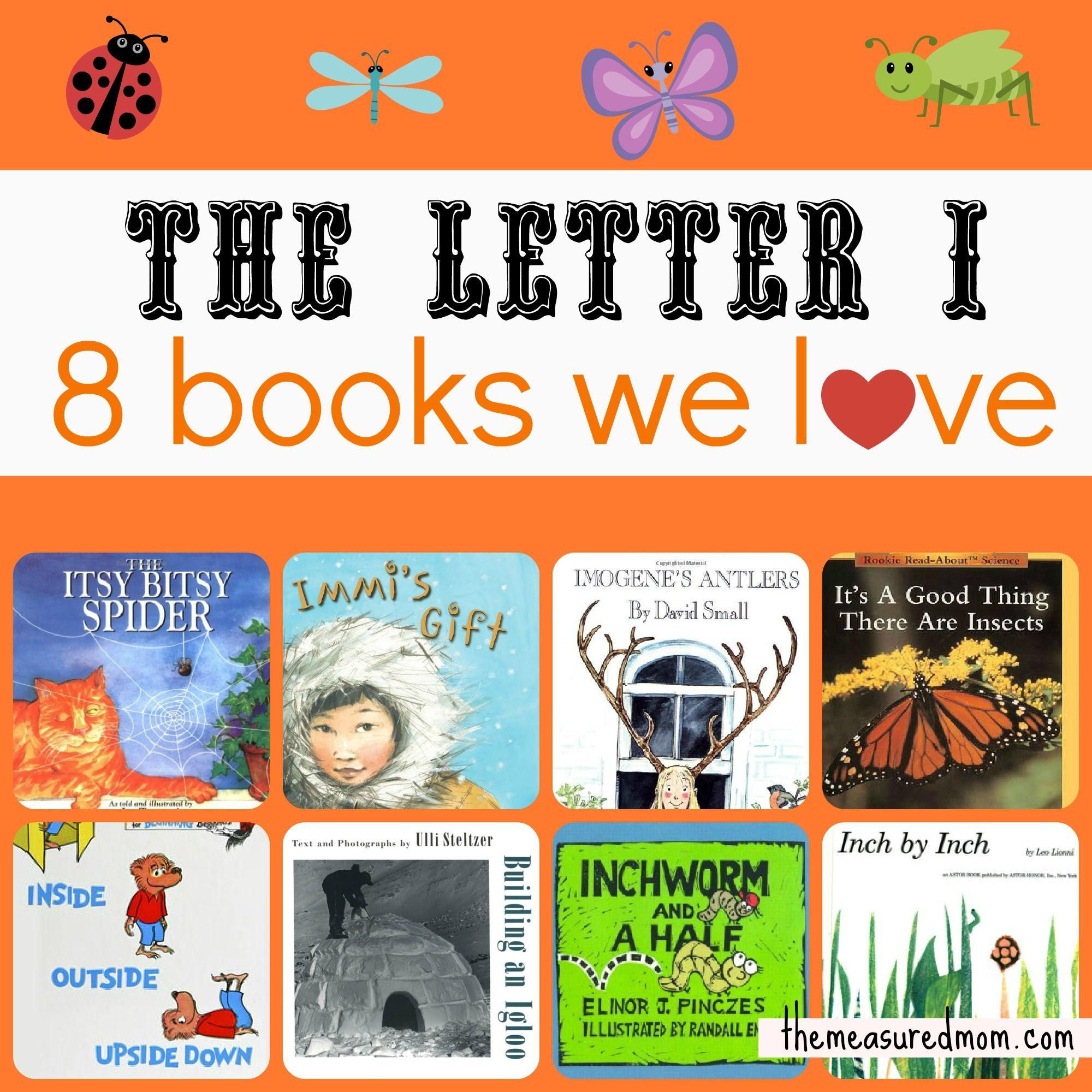 Books For Letter I