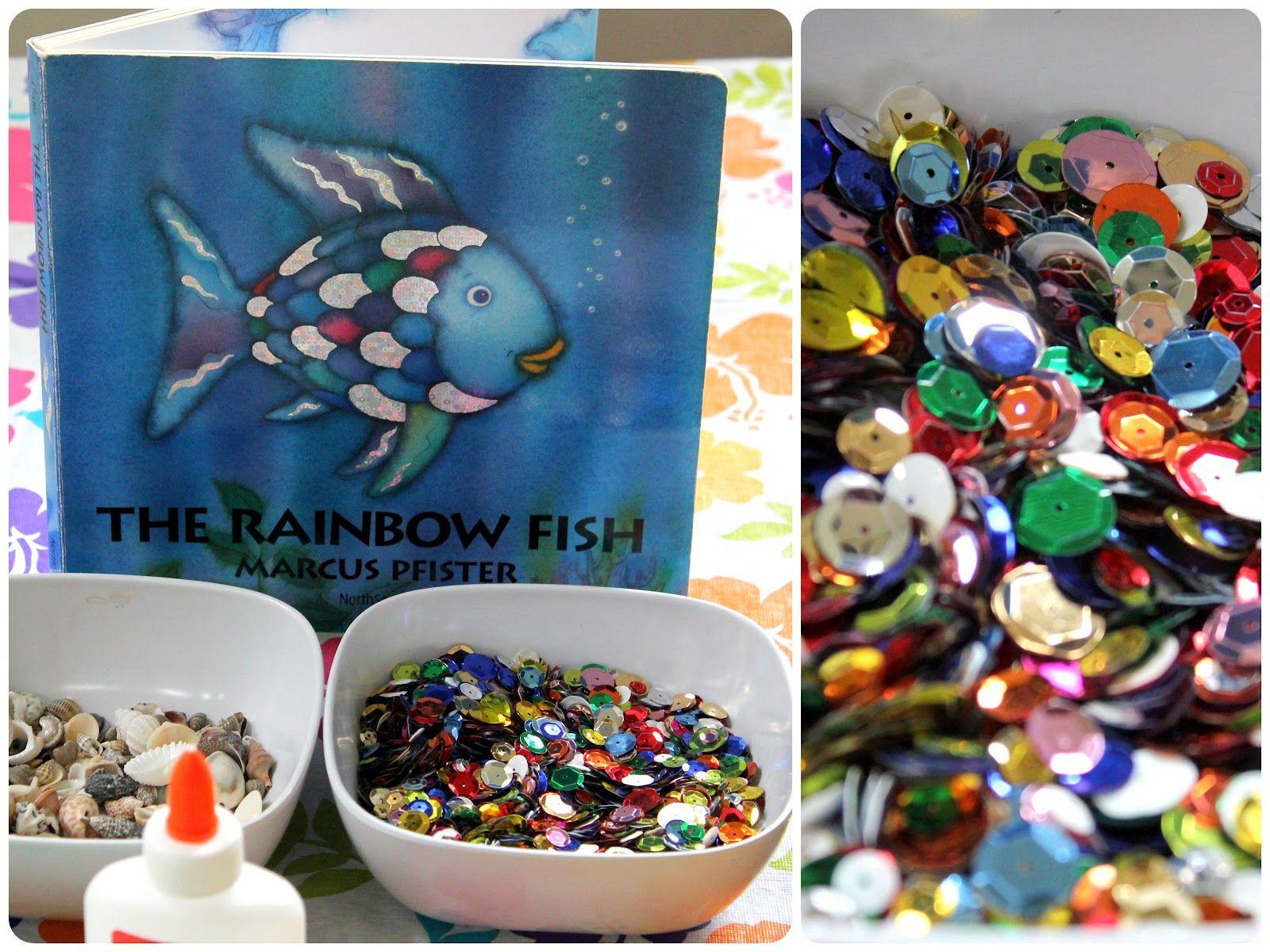 Sunny Sweet Life Rainbow Fish Story And Craft
