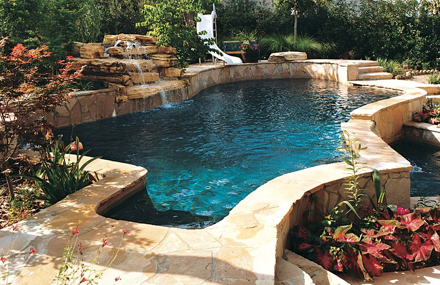 Free Form Pool Photos Dream Home Pinterest Swimming Pools Dark Blue And Turquoise