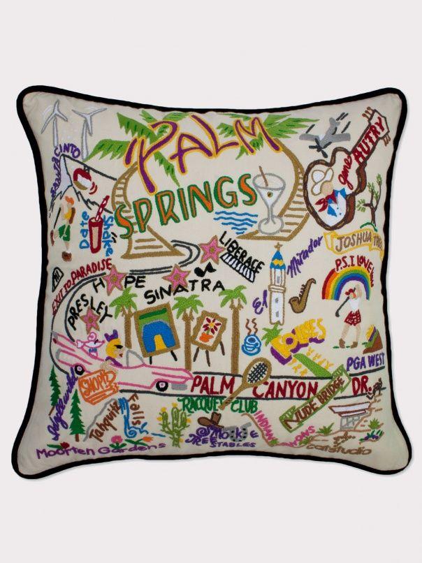 Palm Springs Pillow by Catstudio - ShopKitson.com