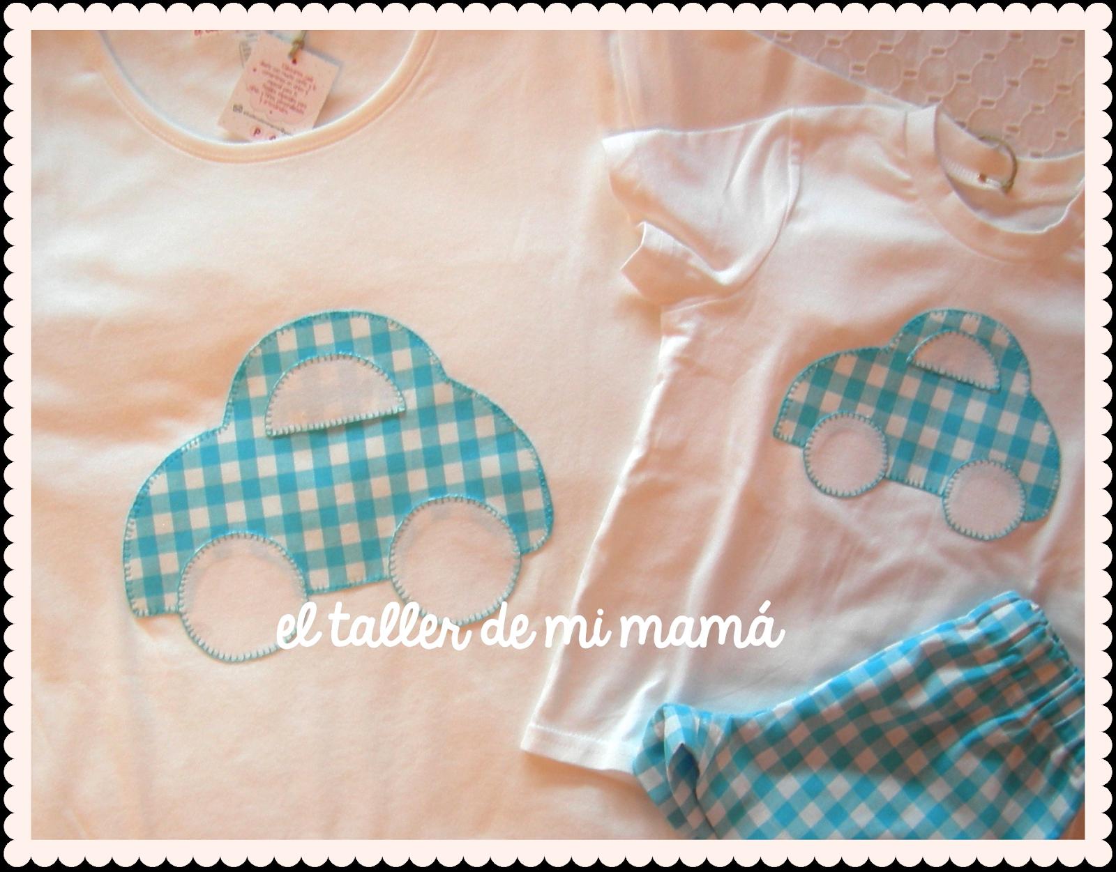 Conjuntos Personalizados A Juego Para Ni O Con Camiseta Para Mam  ~ Ideas Para Decorar Camisetas Infantiles