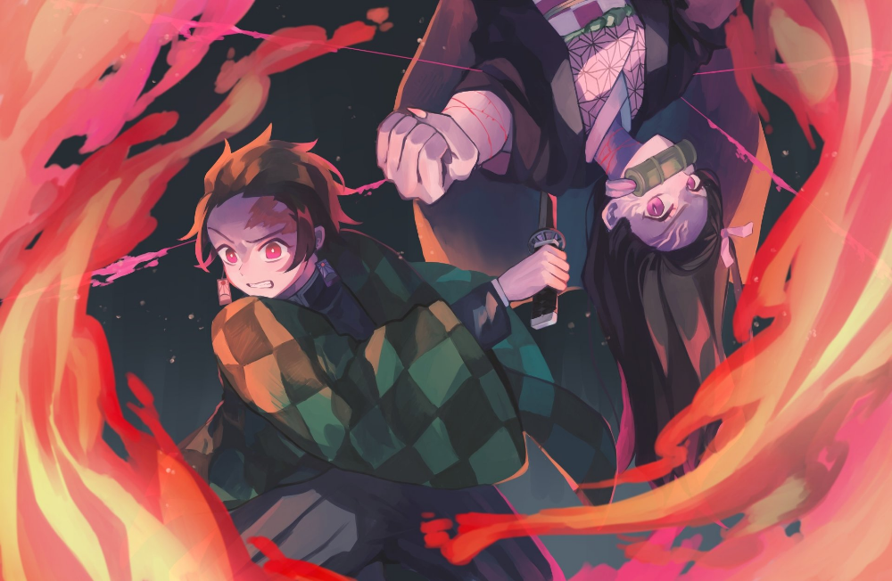 7008x4571 Demon Slayer Kimetsu no Yaiba Wallpaper