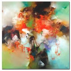 Zavaleta 'Abstract II' Canvas Art $79.99