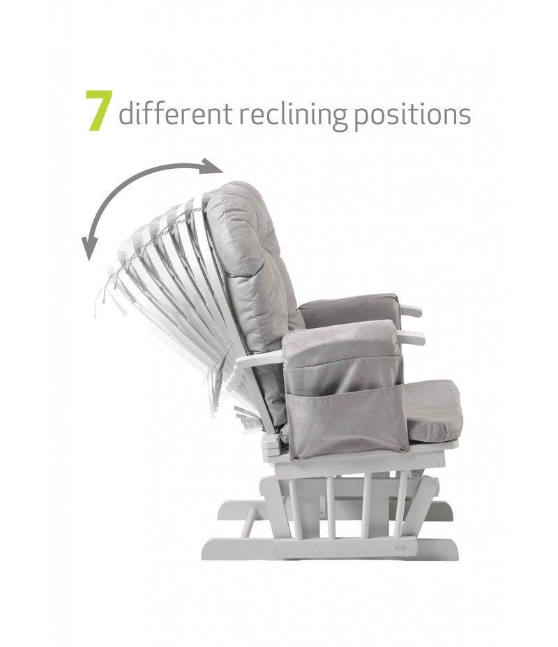 huge selection of b37a6 80fee Haywood Grey | Grey Nursery Rocking Chair | Kub Nursery ...
