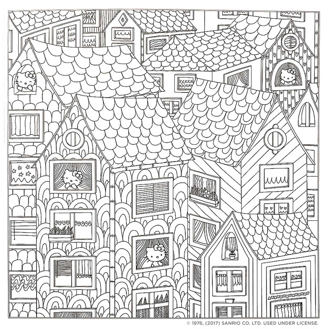 Hello Kitty Amp Friends Coloring Book Hello Kitty Background Hello Kitty Border Hello Kitty C Cat Coloring Book Kitty Coloring Hello Kitty Colouring Pages