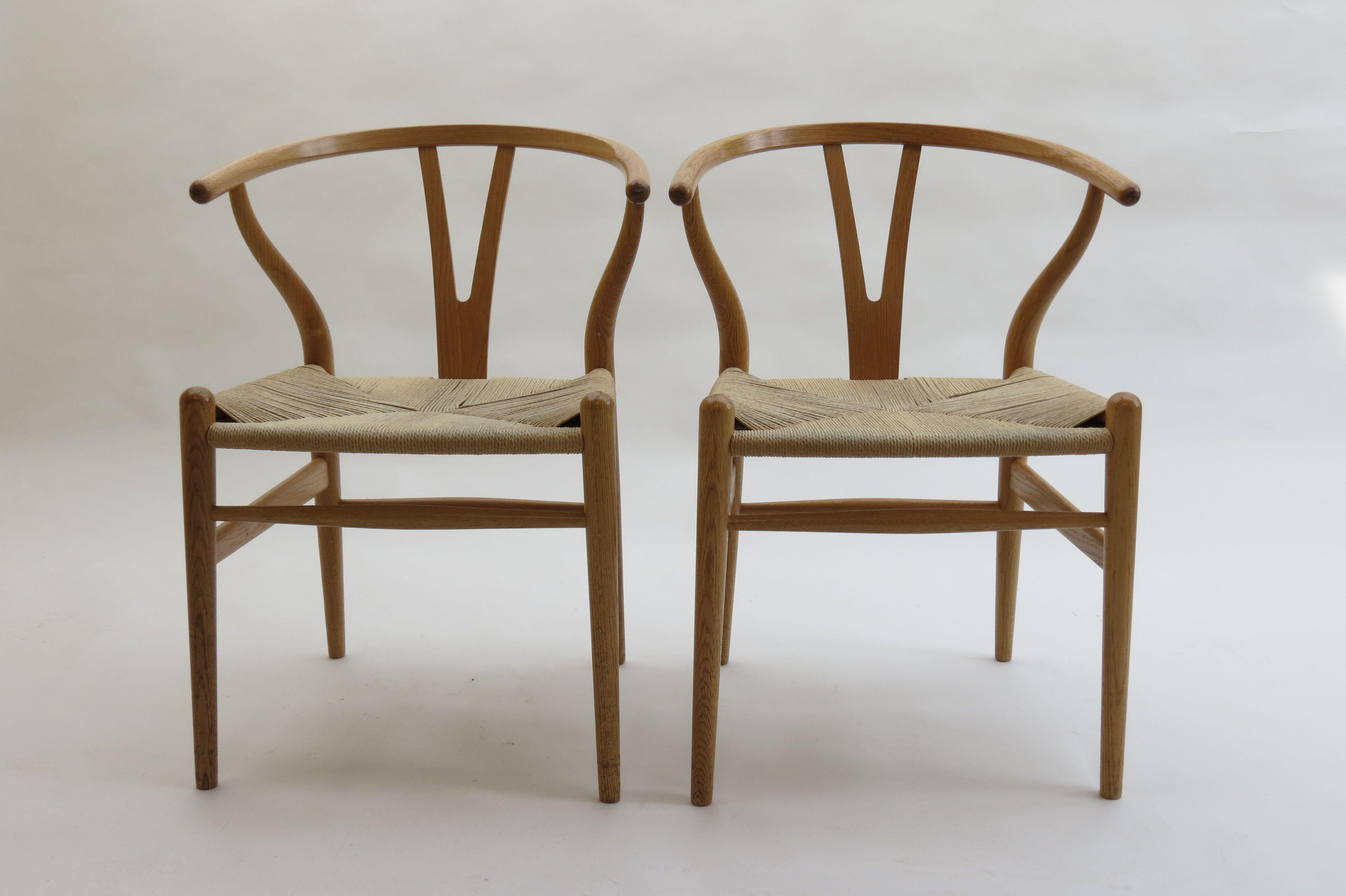 Hans Wegner Wishbone Chair by Carl Hansen Oak Hans