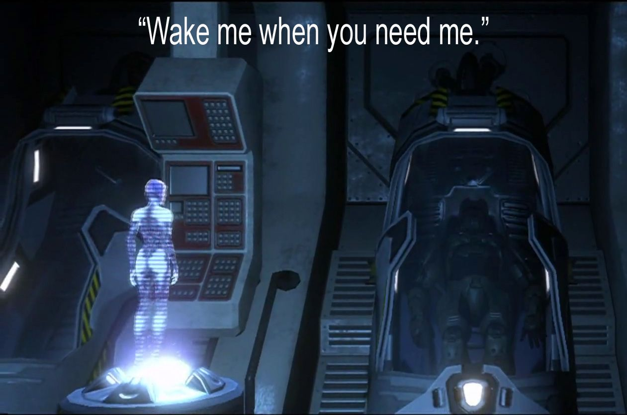 HAlo Video Game Quote via reddit user IAintNoCelebrity
