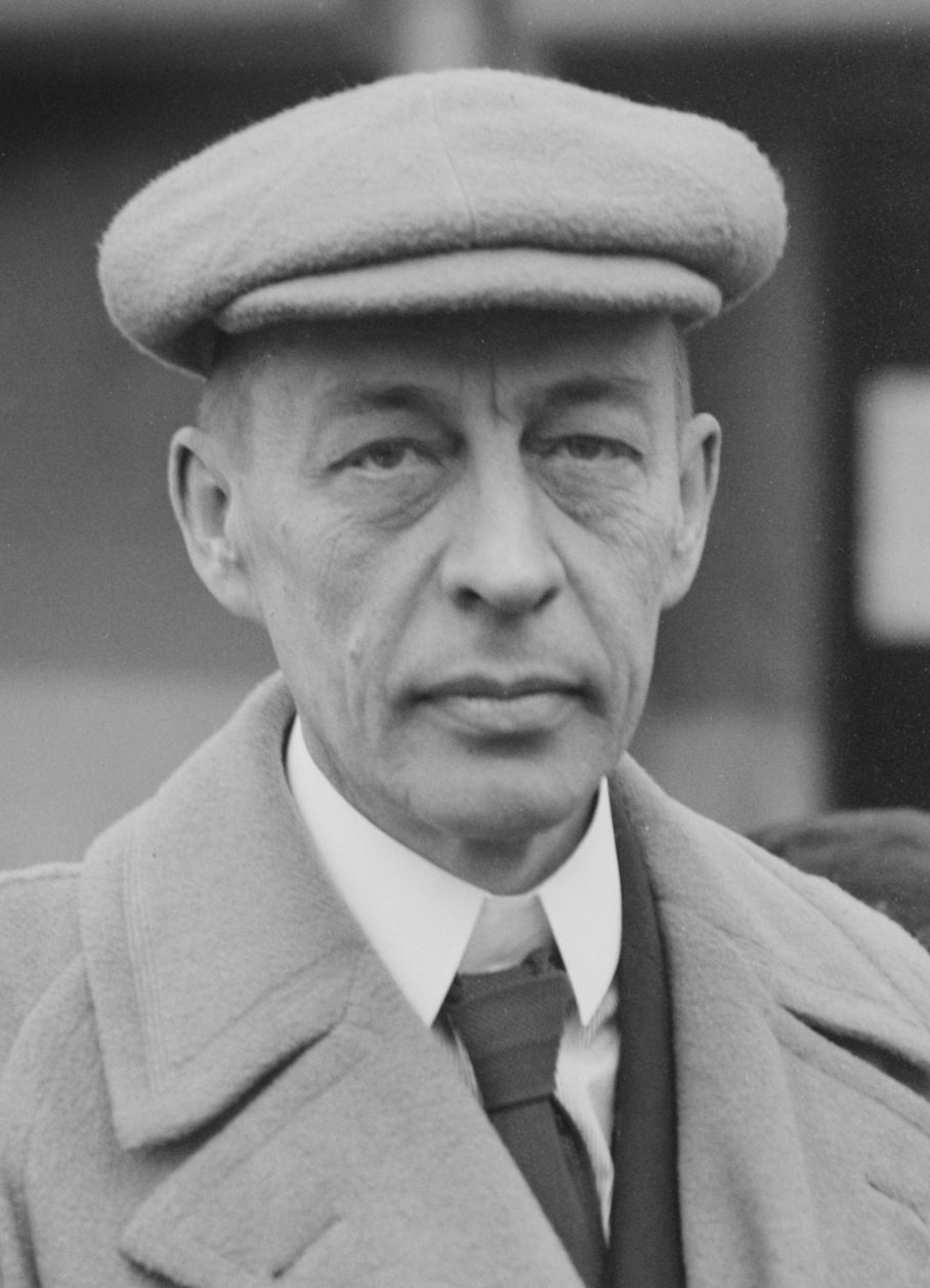 Sergei Vasilievich Rachmaninoff (1 April 1873 – 28 March 1943); Russian composer, pianist, and conductor widely considered one of the finest pianists; great representative of Romanticism in Russian classical music.