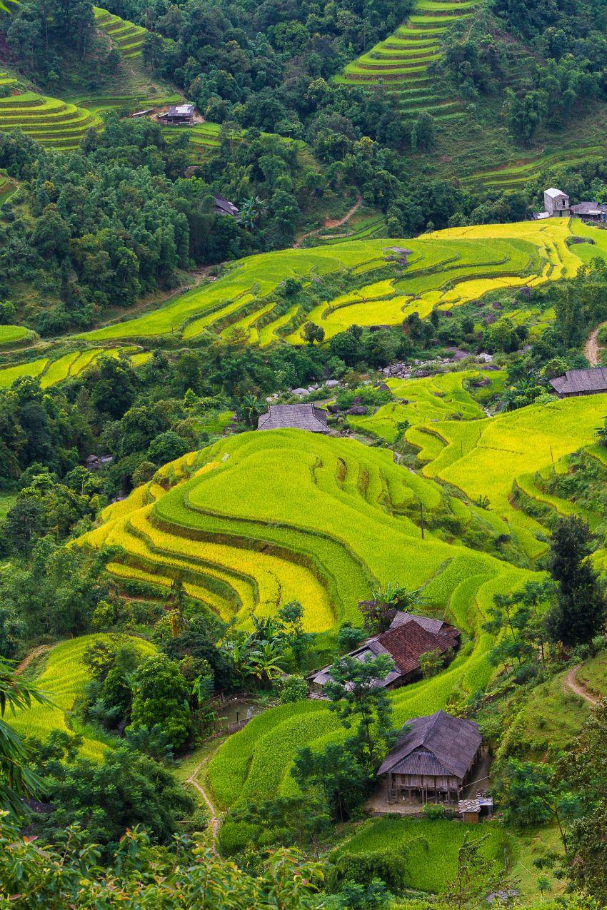 أشهر وأفضل 20 منطقة سياحية في فيتنام بالص و ر بطوطة حجز فنادق وأكثر Beautiful Landscapes Tourism Landscape