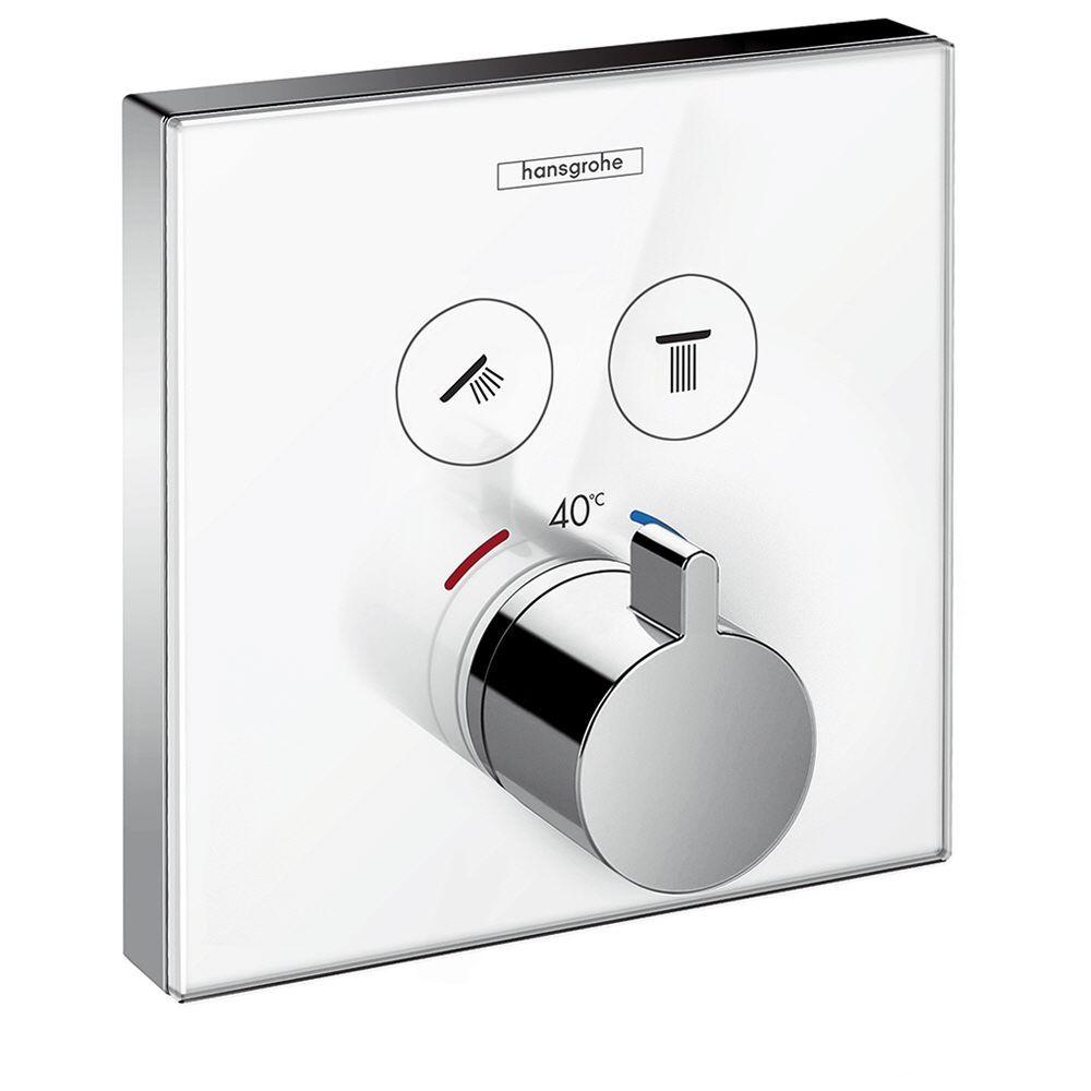 Hansgrohe ShowerSelect Glas Thermostat Unterputz für 2