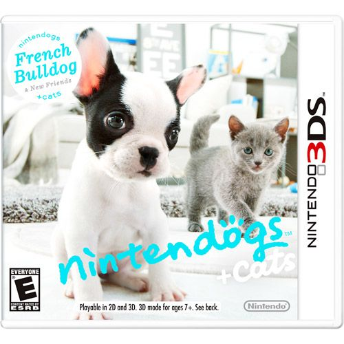 Video Games French Bulldog Cats Funny Animals