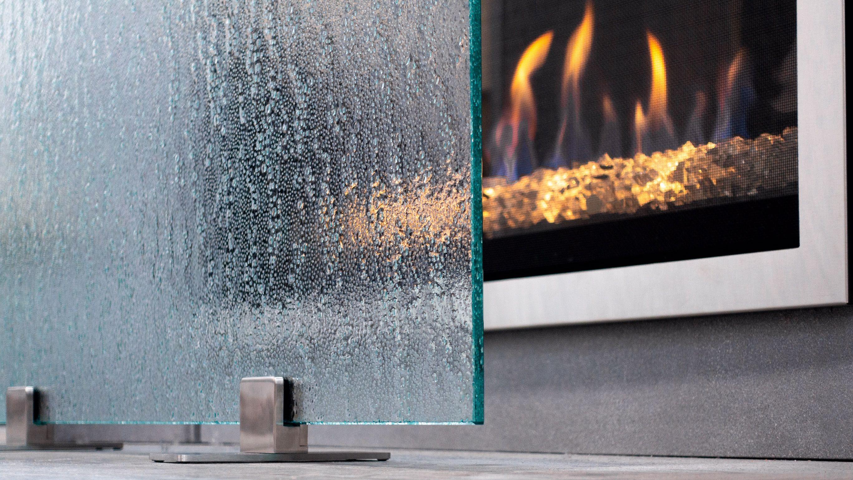 Ams Fireplace Glass Fireplace Glass Fireplace Screen Modern Fireplace Screen