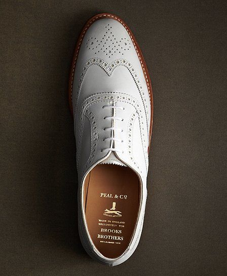 c557c9f2fe7e7 The Great Gatsby Collection White Buck Wingtips | Put Your Shoes On ...
