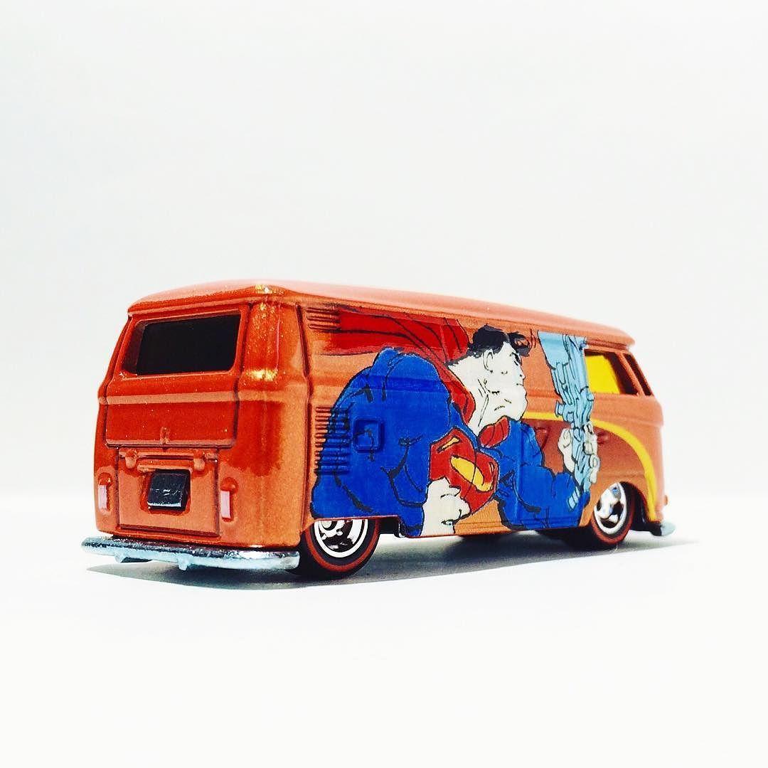 VW Panel Van #toycrew #toypics #hwc #diecast #vdub #hotwheels #vw #volkswagen #dc #superman #comics #dccomics